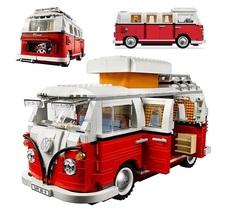 Конструктор CREATE Volkswagen T1 Camper Van 10569 1342 деталей