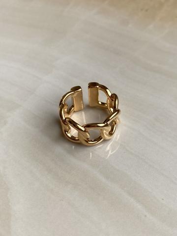 Кольцо Сплетенара, позолота