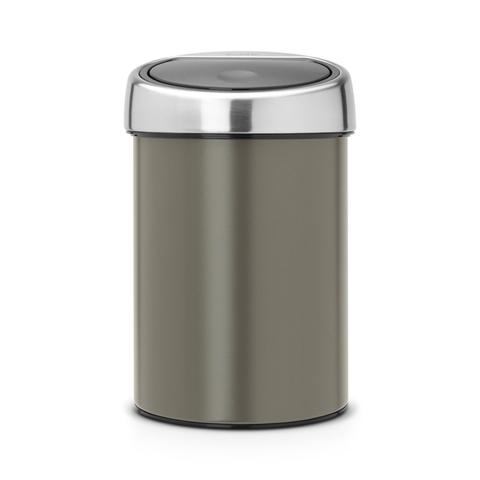 Мусорный бак Touch Bin (3 л), артикул 364464, производитель - Brabantia