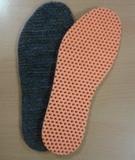 Стельки с итальянским обувным мехом (очень теплые!), плоские