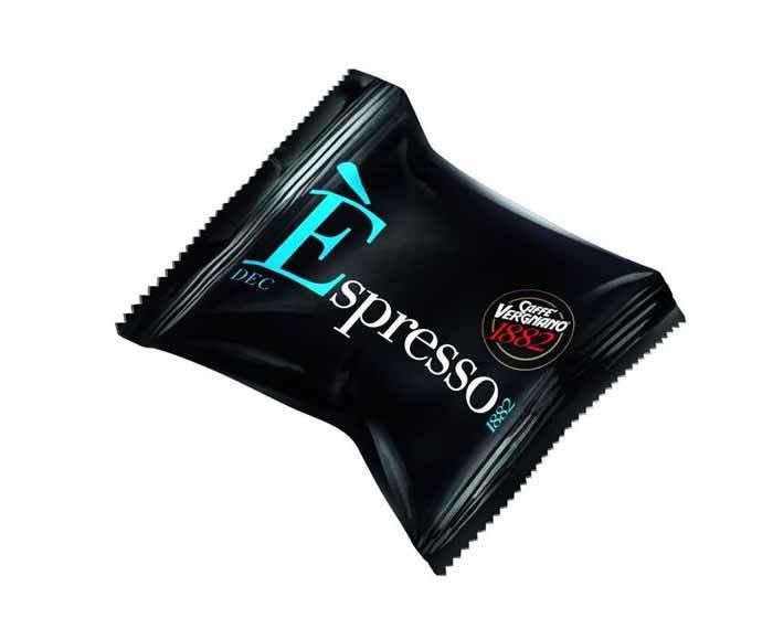 Caffe Vergnano 1882 Espresso Decaf, 10 капсул для кофемашин Nespresso