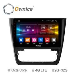 Штатная магнитола на Android 6.0 для Skoda Octavia 04-08 Ownice C500+ S1919P