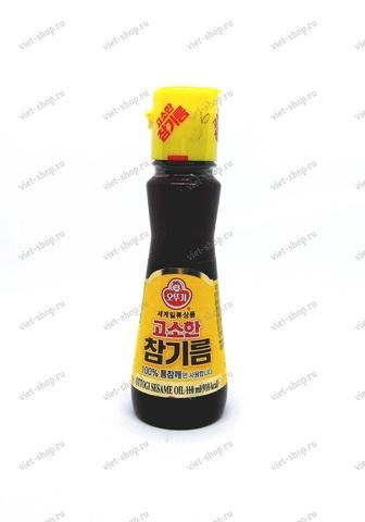 Корейское кунжутное масло нерафинированное, 110 мл.