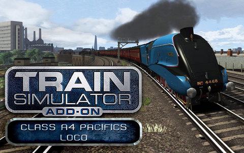 Train Simulator: Class A4 Pacifics Loco Add-On (для ПК, цифровой ключ)