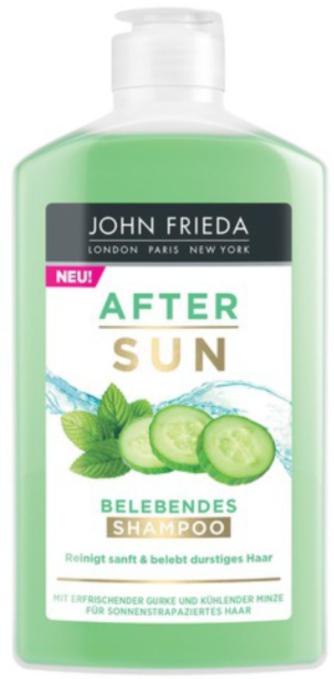 John Frieda After Sun шампунь для волос восстанавливающий 250мл