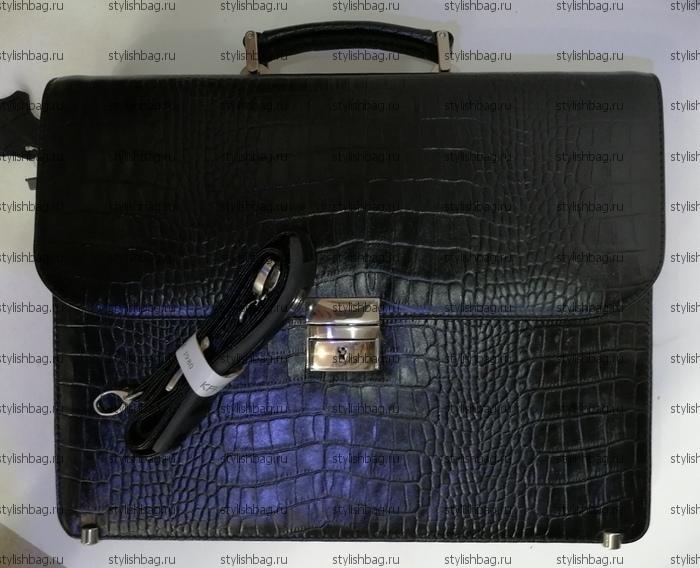 Мужской портфель из кожи Karya