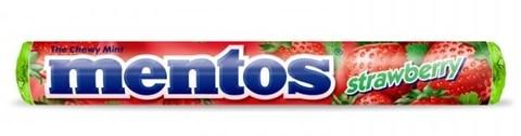 Mentos Strawberry Ментос со вкусом клубники 38 гр