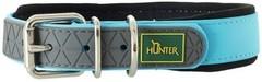 Ошейник для собак Hunter Convenience Comfort 60 (47-55 см)/2,5 см биотановый с мягкой горловиной бирюзовый