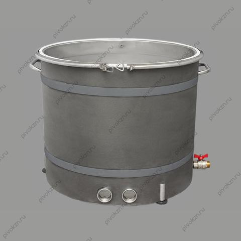 """Универсальный куб ХД-УК/100 литров серии D530 с клампами 2.0"""" (DN50) под ТЭН"""