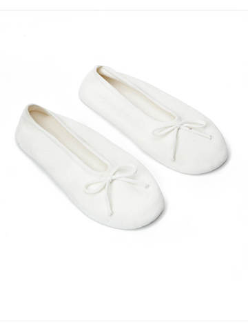 Женские носки белого цвета из вискозы - фото 2