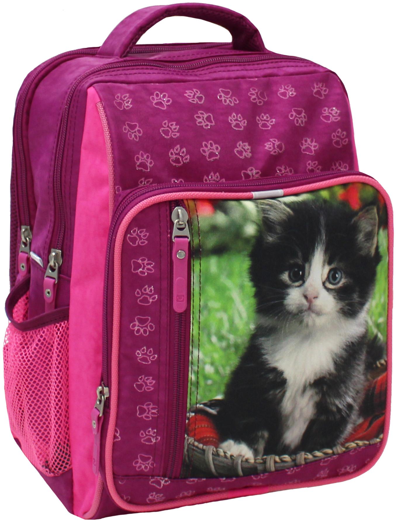 Школьные рюкзаки Рюкзак школьный Bagland Школьник 8 л. 143 малина 59 д (00112702) IMG_5223.JPG