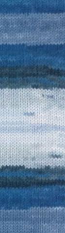 Купить Пряжа Alize Lanagold batik Код цвета 1600 | Интернет-магазин пряжи «Пряха»