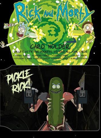 Визитница Rick And Morty: Pickle Rick