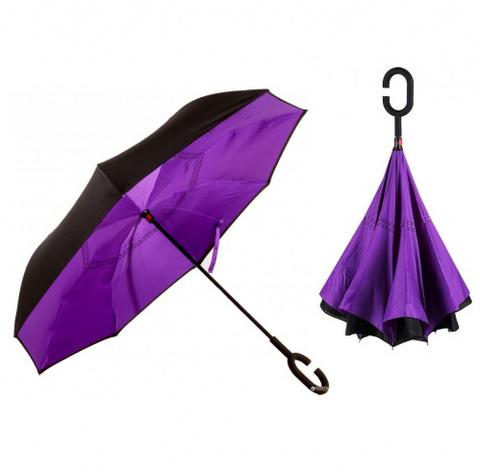Антизонт (зонт наоборот) фиолетовый