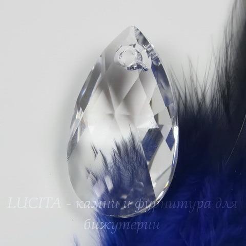 6106 Подвеска Сваровски Капля Crystal (16 мм) ()