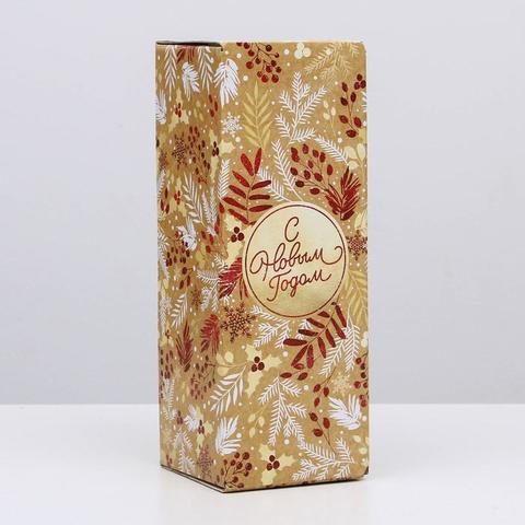 Коробка складная «Новогодний», 12*33,6*12 см
