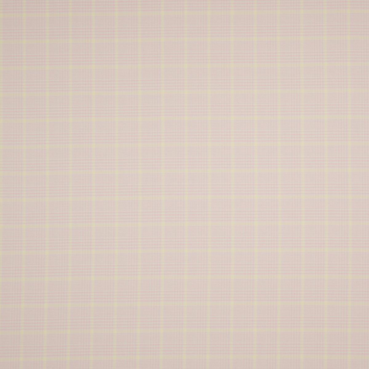 Костюмная ткань из шерсти с шёлком нежно-розового с жёлтым цвета