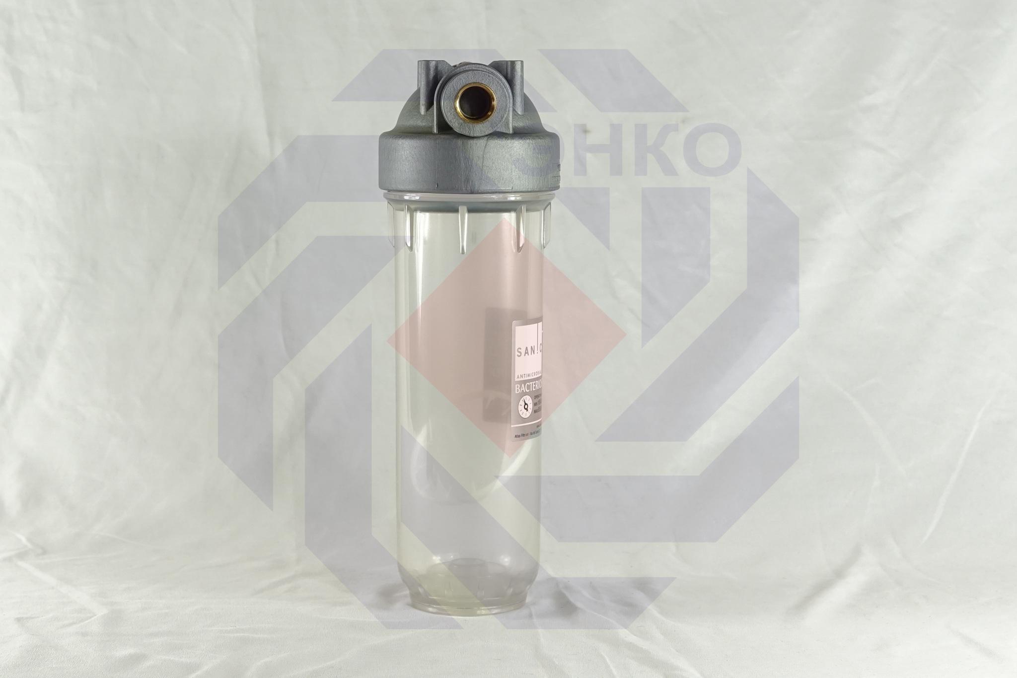 Корпус фильтра одинарный ATLAS DP 10 MONO OT SANIC TS ½