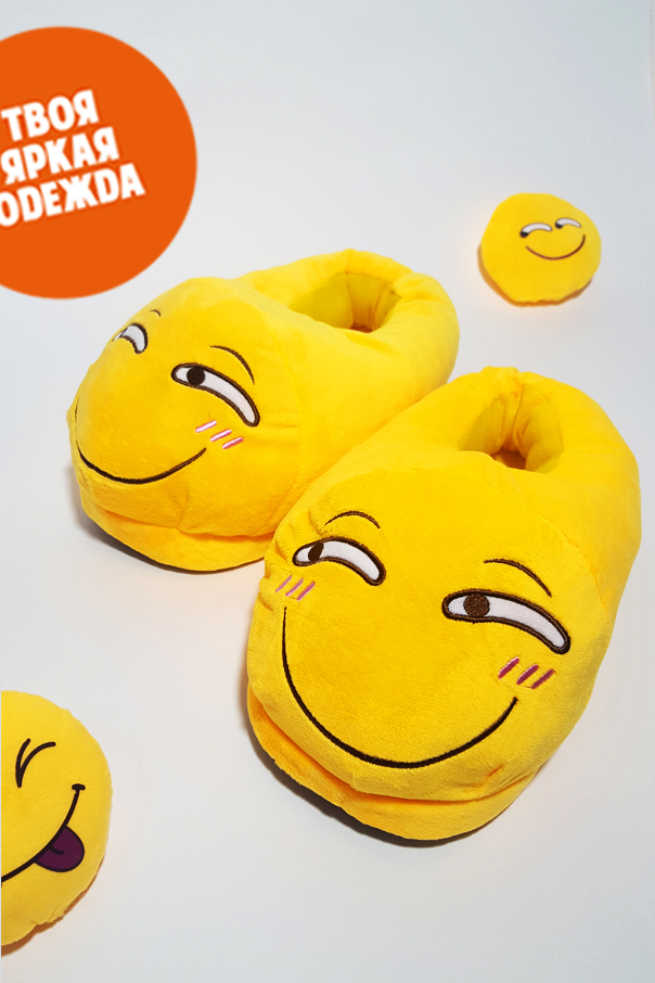 "Тапочки Тапочки Emoji ""Ехидный"" Ехидный.jpg"