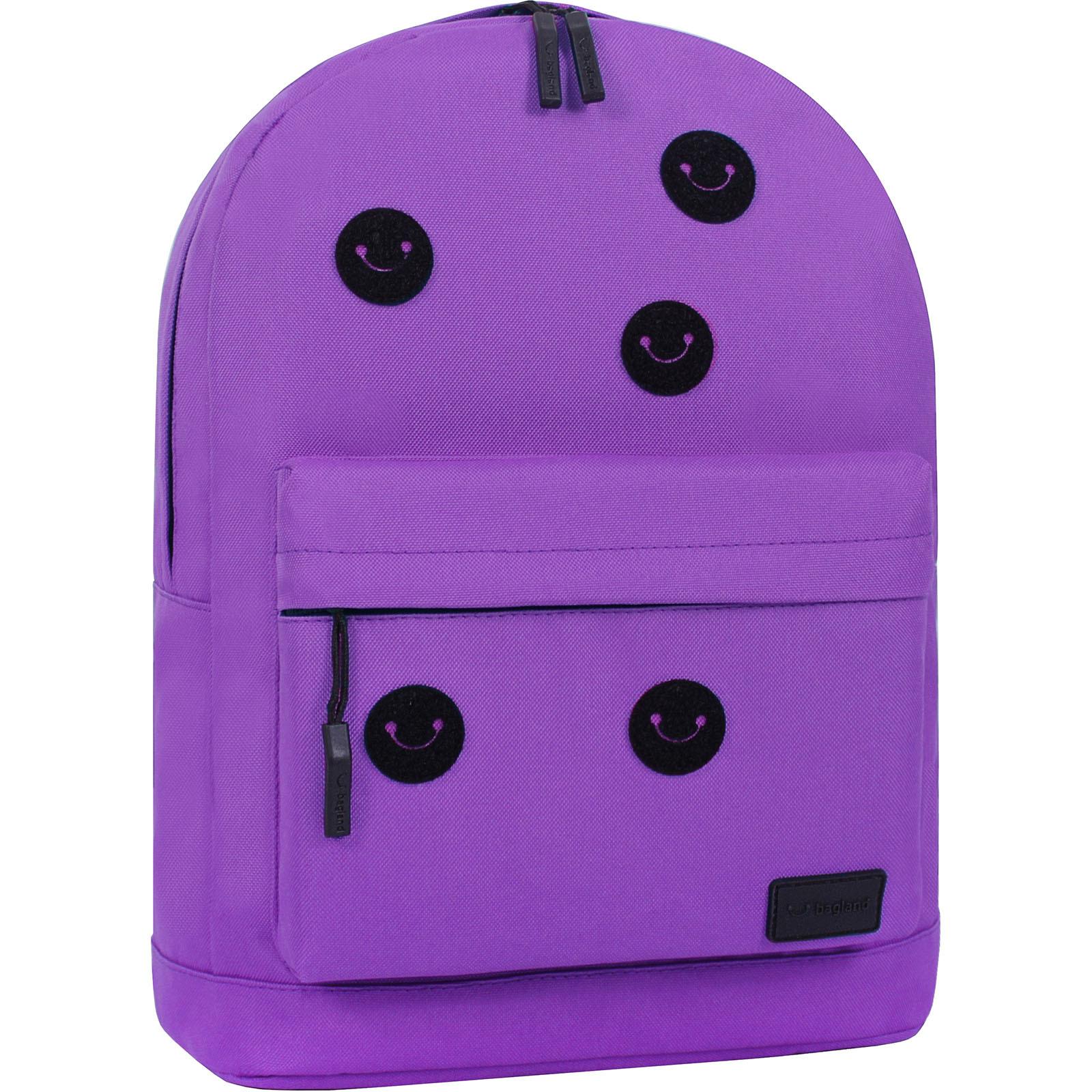 Рюкзак Bagland Молодежный W/R 17 л. Фиолетовый 170 (00533662 Ш) фото 2