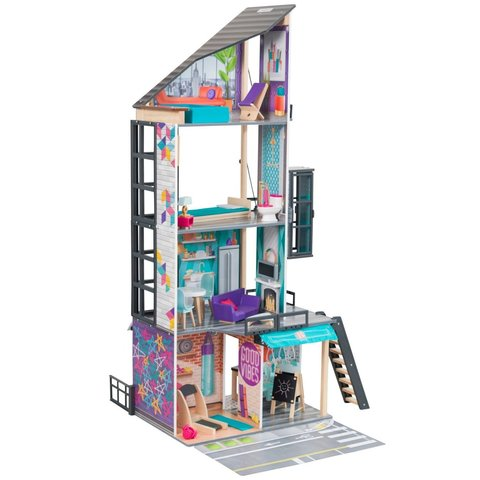 KidKraft Бьянка - кукольный домик с мебелью 65989_KE