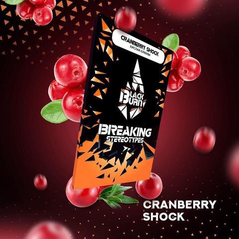 Табак Black Burn Cranberry shock (Кислая клюква) 100г
