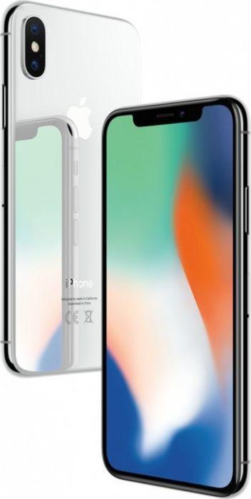 Apple iPhone X 64 ГБ Серебристый (как новый)