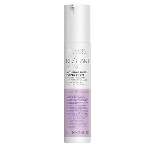 REVLON Restart Color: Фиолетовые капли для усиления и поддержки холодных оттенков волос (Anti-Brassiness Purple Drops), 50мл