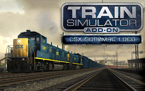 Train Simulator: CSX SD80MAC Loco Add-On (для ПК, цифровой ключ)