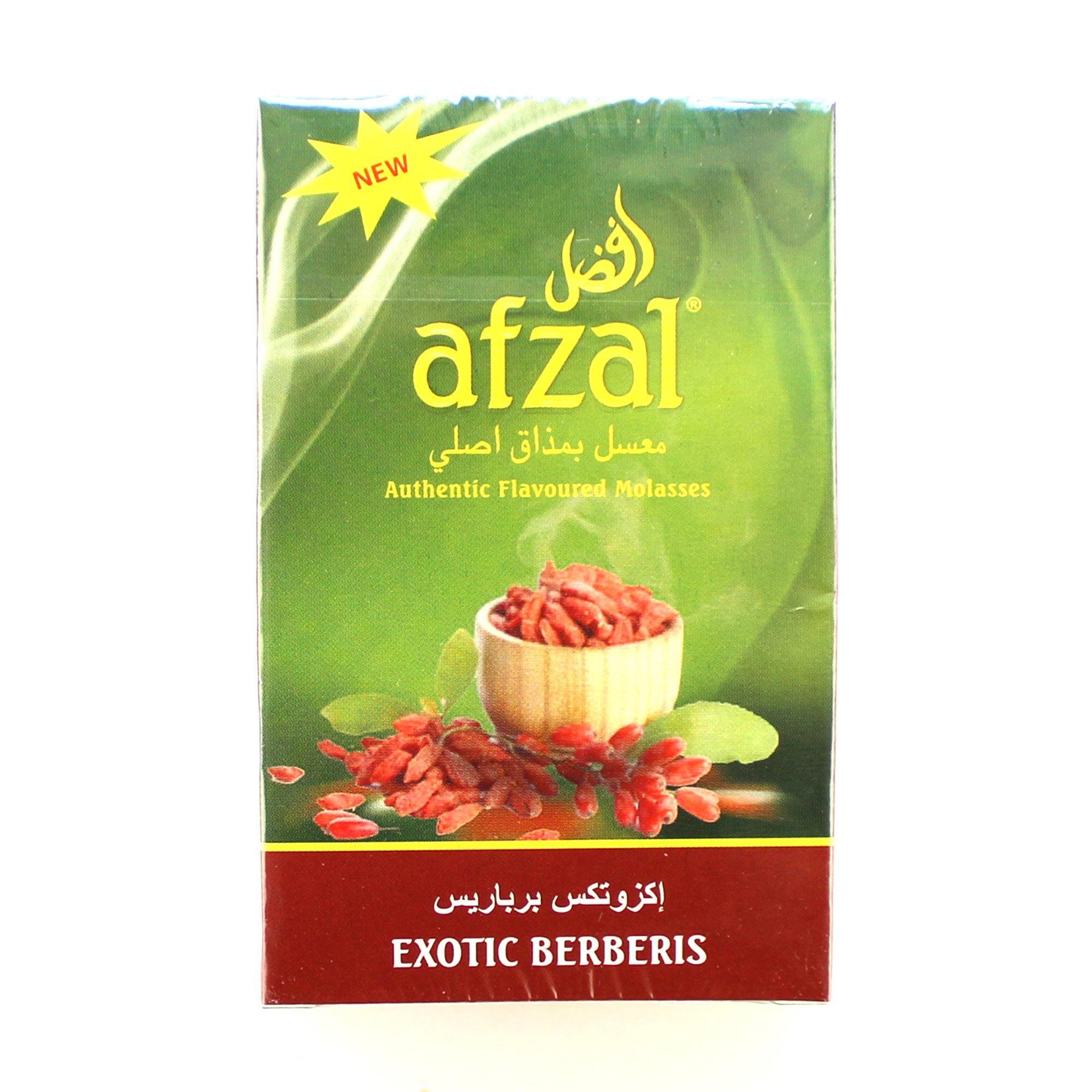 Табак для кальяна Afzal Exotic Berberis 50 гр.