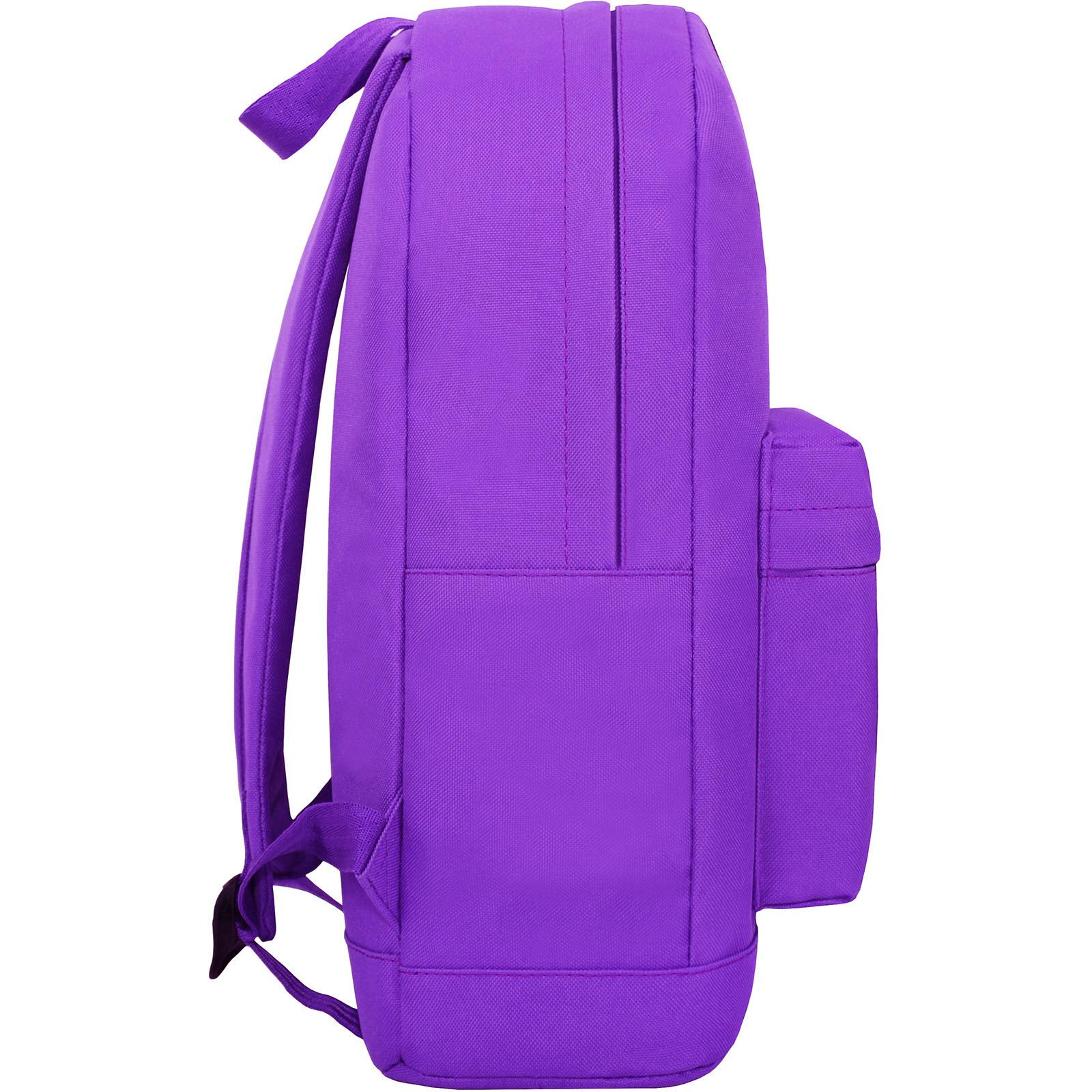 Рюкзак Bagland Молодежный W/R 17 л. Фиолетовый 170 (00533662 Ш) фото 3