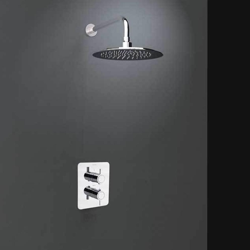 Смеситель термостатический встроенный для душа с душевым комплектом DRAKO K3324012 с 1 выходом