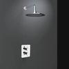 Смеситель термостатический встроенный для душа с душевым комплектом DRAKO K3324012 с 1 выходом - фото №1