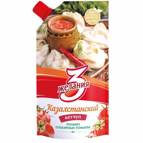 Кетчуп 3 ЖЕЛАНИЯ Казахстанский 450 г ДП КАЗАХСТАН