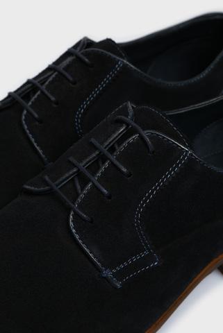 Мужские темно-синие замшевые дерби Ojas Preppy