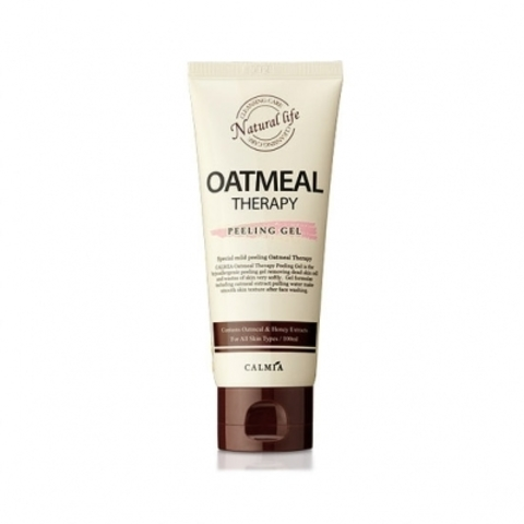 Calmia Oatmeal Therapy Peeling Gel пилинг гель с экстрактом овса