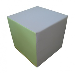Куб деревянный, обшит ковролином, размер 200х200х200мм