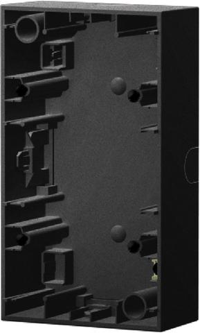 Коробка на 2 поста для наружного монтажа. Цвет Антрацит. Berker (Беркер). K.1. 10427006