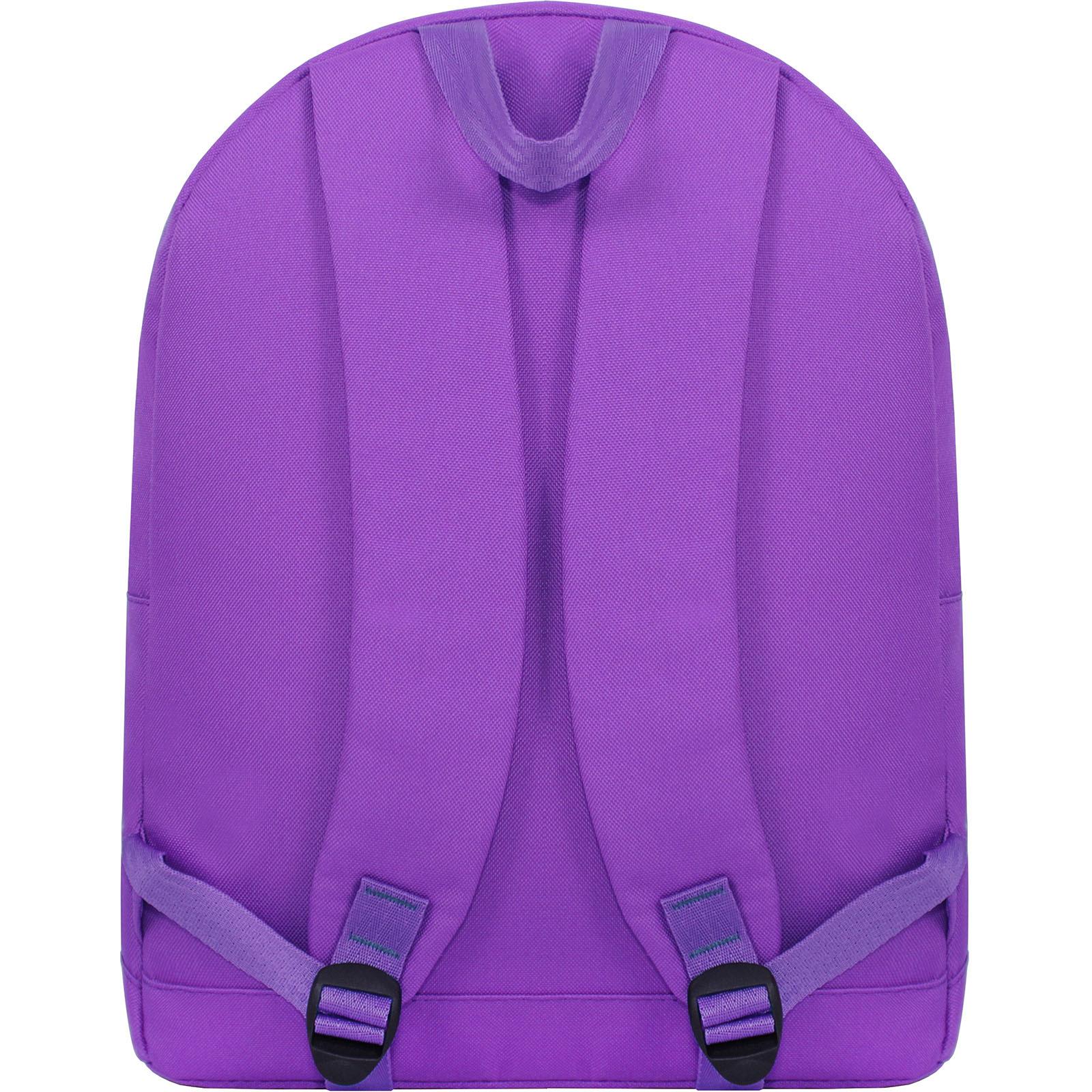 Рюкзак Bagland Молодежный W/R 17 л. Фиолетовый 170 (00533662 Ш) фото 4