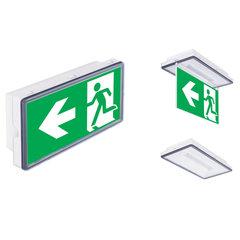 Vella LED eco SO может применяться как световой указатель или как светильник аварийного освещения