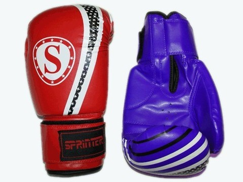 Перчатки бокс SPRINTER PUNCH-STAR. Размер-вес 8