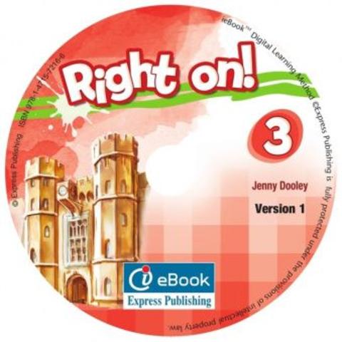Right on! 3. Ie-Book - Version 1 International. DVD с интерактивными упражнениями