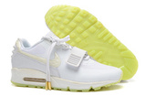 Кроссовки мужские Nike Air Max 90 HYP White By Kanye West