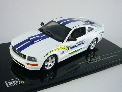 Ford Mustang GT Guaynabo City Puerto Rico Police 2006 IXO 1:43