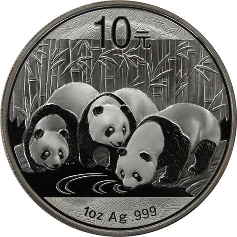 10 юаней 2013 г. Животный мир. Китайская панда.