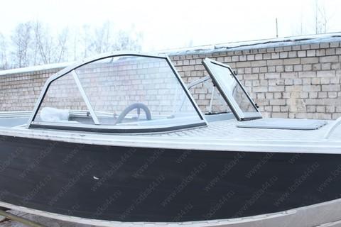 Ветровое стекло «Элит-А» для лодки «Волжанка-46 (Классик) до 2016 г.в.»