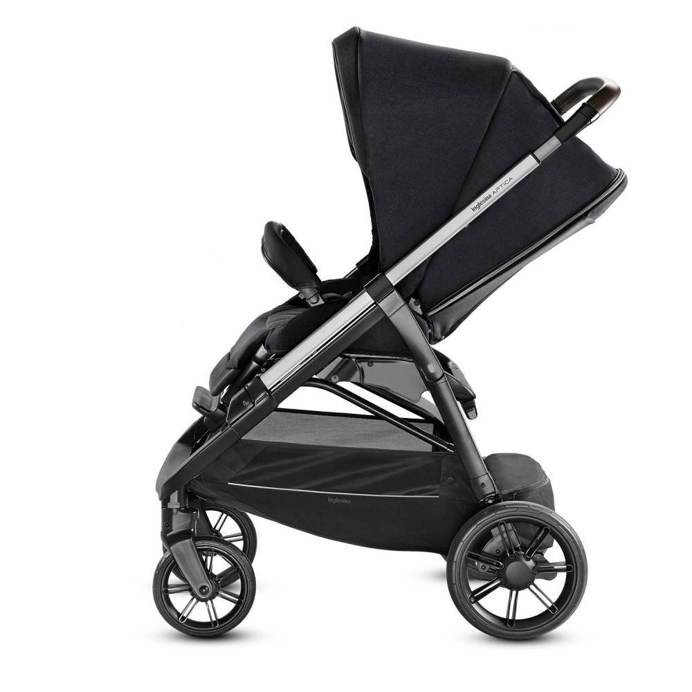 Прогулочная коляска Aptica, цвет MYSTIK BLACK