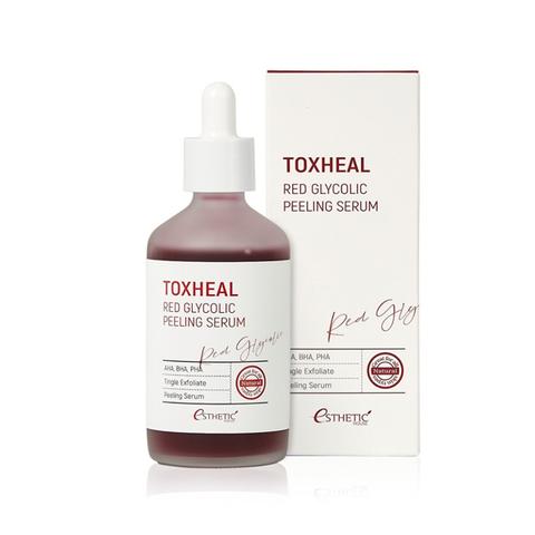 [ESTHETIC HOUSE] Пилинг-сыворотка ГЛИКОЛЕВАЯ Toxheal Red Glyucolic Peeling Serum, 100 мл