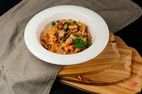 Рис жареный с морепродуктами