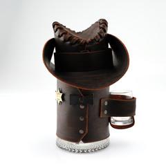 Сувенирная кружка Шериф, черная, фото 3